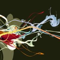 Colorare il Fiore Canvas Art Print