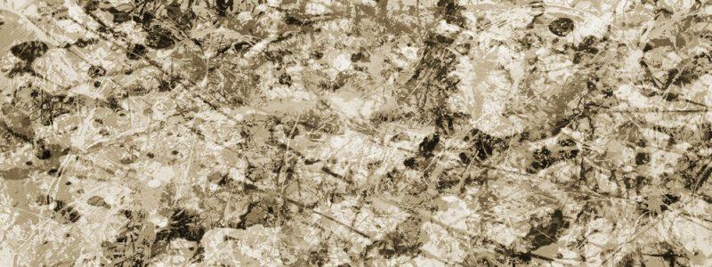 Jackson Pollock Style Canvas Art Print 2