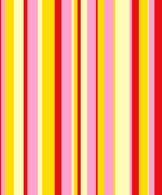 Candy Stripe Canvas Art Print