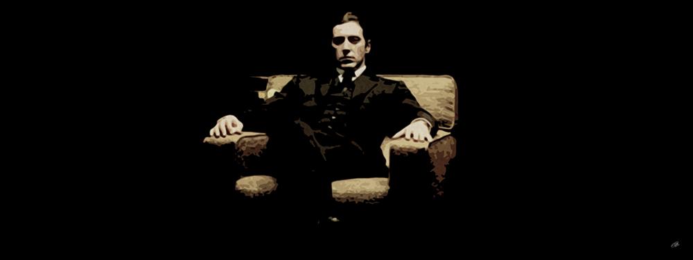 Al Pacino, Michael Corleone Canvas Art Print