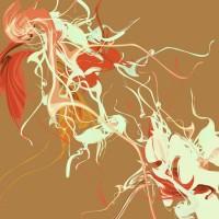 Cascata Floreale Canvas Art Print