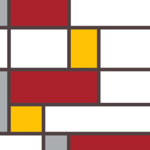 Abstract Geometric Canvas Art Print