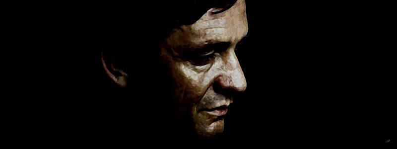 Johnny Cash Canvas Art Print