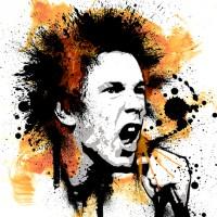 Johnny Rotten Canvas Art Print