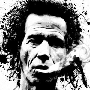 Keith Richards Canvas Art Print