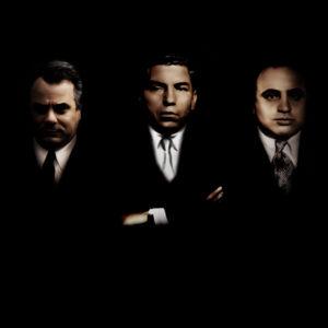 John Gotti Lucky Luciano Al Capone Canvas Art Print