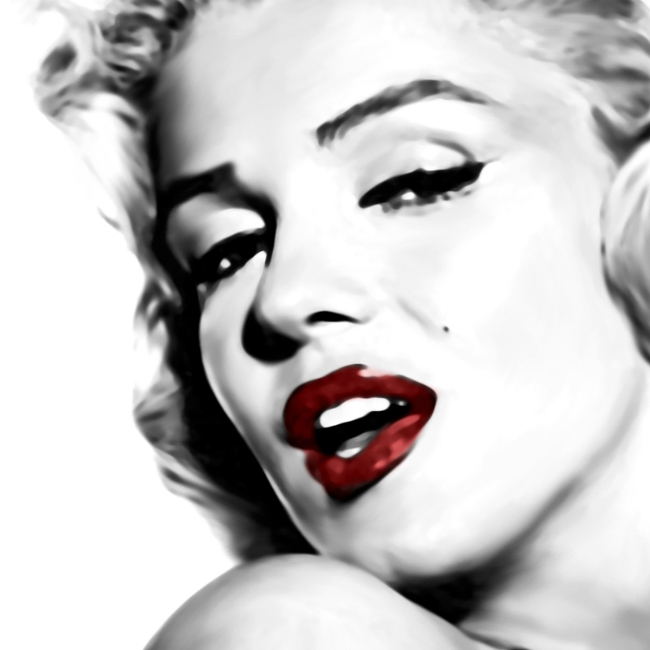 Marilyn Monroe Canvas Art Print By Lja Canvas Art