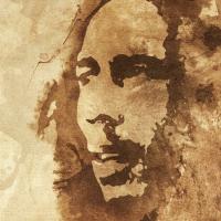 Bob Marley Canvas Painting Detail