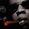 Jay Z Canvas Art Print Detail