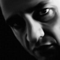 Johnny Cash Canvas Art Print Detail