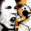 Johnny Rotten Canvas Print Detail