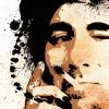 Keith Moon Canvas Print Detail