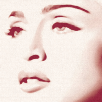 Madonna Canvas Print Detail