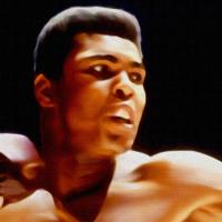 Muhammed Ali Canvas Print Detail