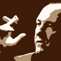 Tony Soprano Canvas Art Print Detail