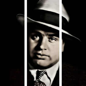 Al Capone Triptych Canvas Art Prints