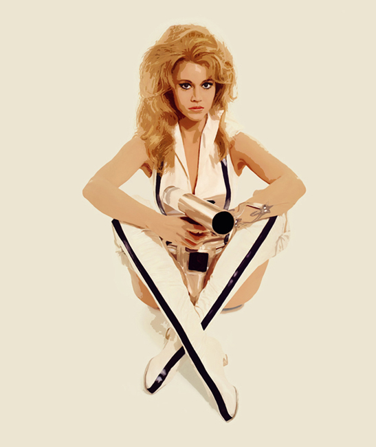 Barbarella Canvas Art Print