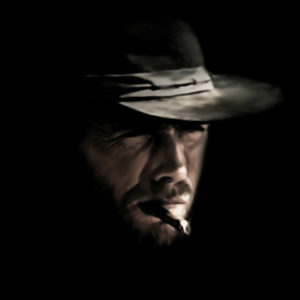 Clint Eastwood Canvas Print
