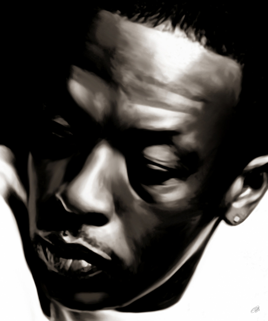 Dr. Dre Canvas Art Print.