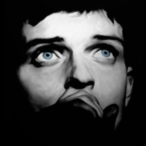 Ian Curtis Canvas Print