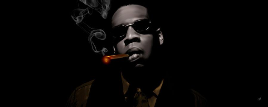 Jay-Z Canvas Art Print