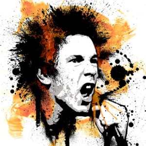 Johnny Rotten Canvas Art Print