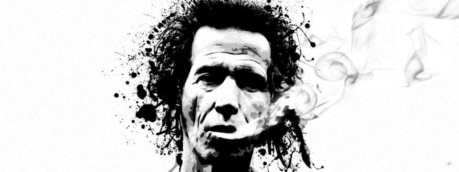 Keith Richards Canvas Art Print