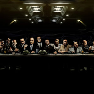 Mafia Canvas Gangster Art Print