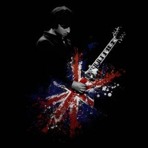 Noel Gallagher Oasis Canvas Art Print