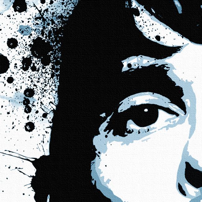 Ian Brown Canvas Print Detail