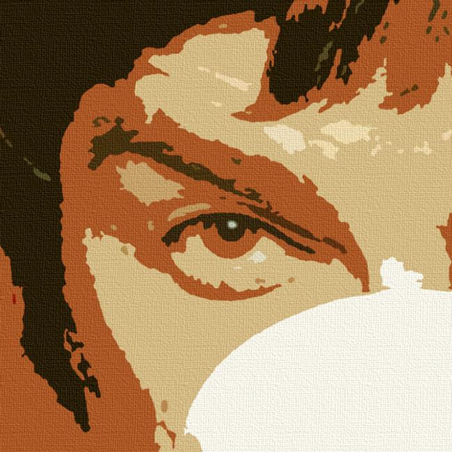 Noel Gallagher, Oasis Canvas Print Detail