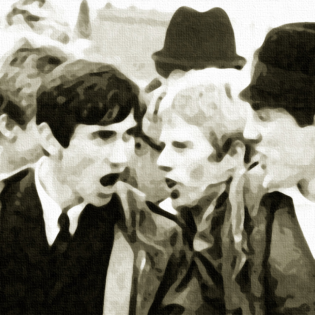 Quadrophenia Canvas Print Detail